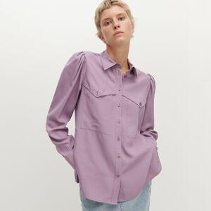 Reserved - Košeľa z lyocellu značky Tencel™ - Ružová