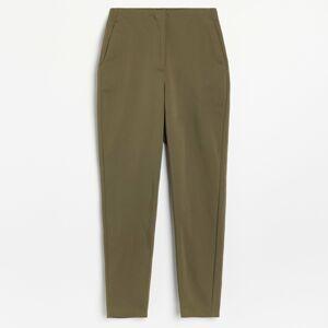 Reserved - Nohavice rovného strihu - Khaki