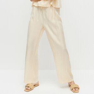 Reserved - Ladies` trousers - Žltá