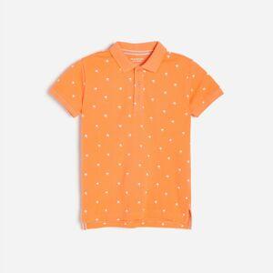 Reserved - Bavlnené polo tričko - Červená