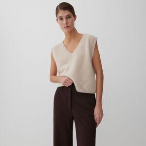 Reserved - Ladies` vest - Béžová