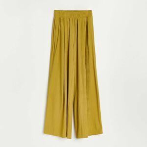 Reserved - Široké nohavice - Zelená