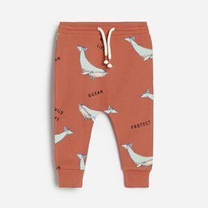Reserved - Vzorované bavlnené nohavice -