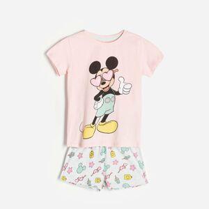 Reserved - Dvojdielne pyžamo Mickey Mouse - Ružová