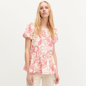 Reserved - Ladies` blouse - Ružová