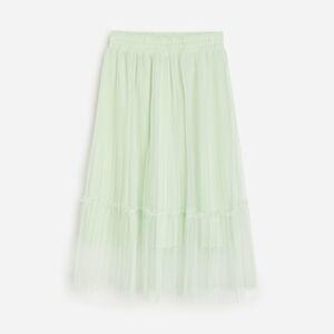 Reserved - Girls` skirt - Zelená