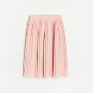 Reserved - Plisovaná sukňa - Ružová