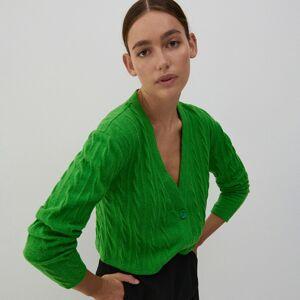 Reserved - Úpletové tričko - Zelená