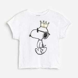 Reserved - Bavlnené tričko Snoopy - Krémová