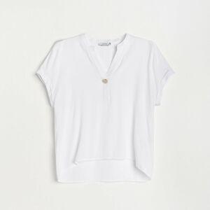Reserved - Ladies` blouse - Biela