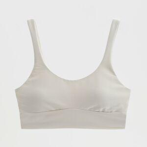 Reserved - Ladies` beachwear bra - Krémová