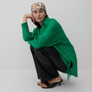 Reserved - Bavlnená košeľa - Zelená