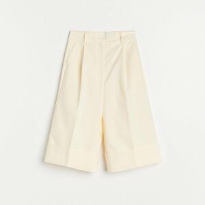 Reserved - Šortky z organickej bavlny - Žltá