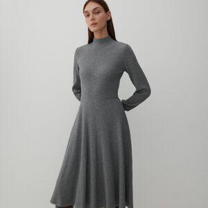 Reserved - Úpletové šaty - Šedá