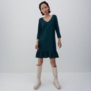 Reserved - Úpletové šaty - Tyrkysová