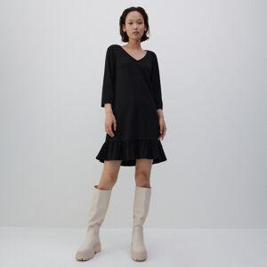 Reserved - Úpletové šaty - Čierna
