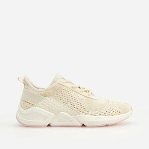 Reserved - Tenisky typu sneakers - Krémová
