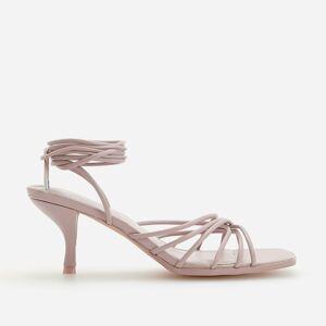 Reserved - Sandále na vysokom opätku - Purpurová