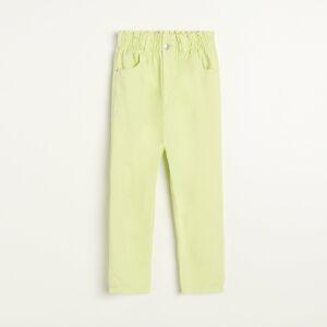 Reserved - Slim fit džínsy - Žltá