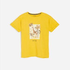 Reserved - Boys` t-shirt - Žltá
