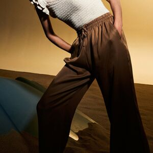 Reserved - Voľné nohavice - Žltá