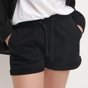 Reserved - Ladies` shorts - Čierna