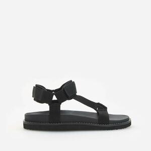 Reserved - Men`s sandals - Čierna
