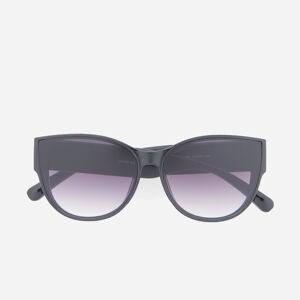 Reserved - Slnečné okuliare s čiernym rámom - Čierna