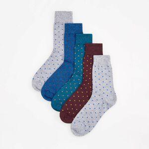 Reserved - Ponožky, 5-Balenie - Svetlošedá