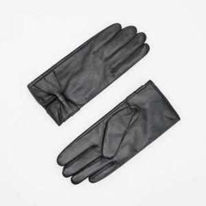 Reserved - Kožené rukavice - Čierna