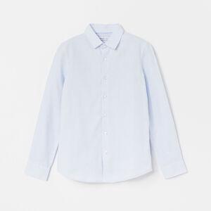 Reserved - Bavlnená košeľa - Modrá