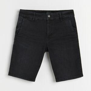 Reserved - Rifľové šortky - Čierna