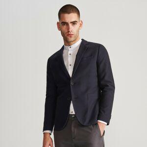 Reserved - Oblekové sako zo štruktúrovaného úpletu -