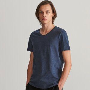Reserved - Tričko z organickej bavlny - Tmavomodrá