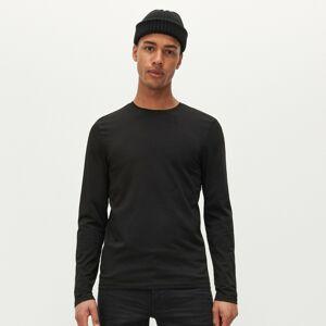 Reserved - Hladké basic tričko - Čierna