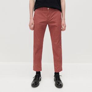 Reserved - Chino nohavice zo štruktúrovanej látky -