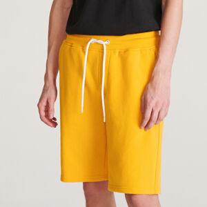 Reserved - Úpletové šortky - Žltá