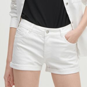Reserved - Rifľové šortky - Biela