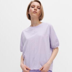 Reserved - Tričko voľného strihu - Purpurová