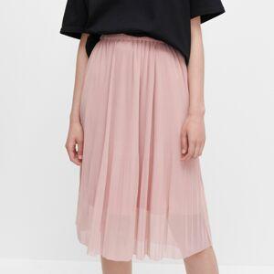 Reserved - Jemne plisovaná sukňa - Ružová
