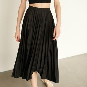 Reserved - Plisovaná sukňa - Čierna
