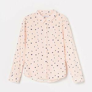 Reserved - Dievčenská košeľa - Oranžová
