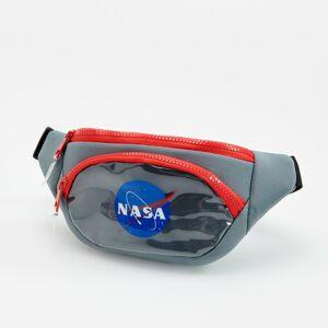 Reserved - Ľadvinka s potlačou NASA - Svetlošedá