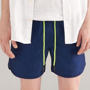 Reserved - Plavkové šortky - Modrá