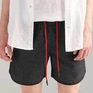 Reserved - Plavkové šortky - Čierna