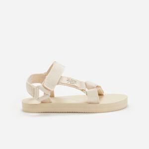 Reserved - Sandále na plochej podrážke -