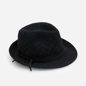 Reserved - Slamený klobúk - Čierna