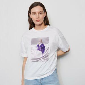 Reserved - Dámske tričko - Biela
