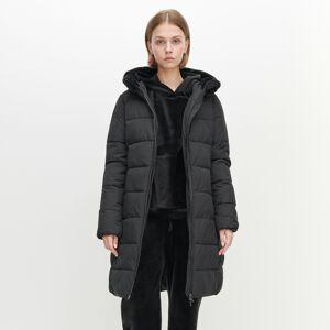 Reserved - Zateplený kabát - Čierna