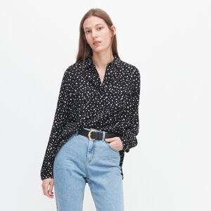 Reserved - Vzorovaná košeľa - Čierna
